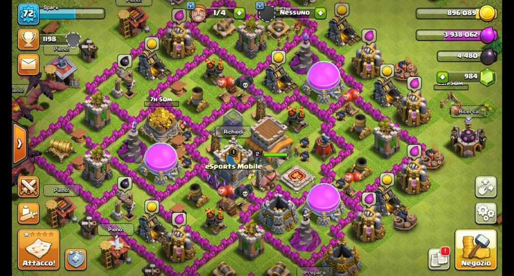 Crea un buon layout per la tua base di Clash of Clans